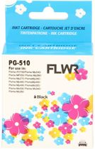 FLWR - Inktcartridge / PG-510 Zwart - Geschikt voor Canon