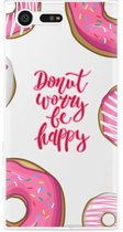 Sony Xperia X Compact Hoesje Donut Worry