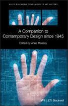 A Companion to Contemporary Design since 1945