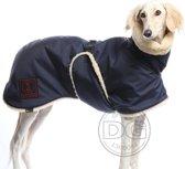 DG Hondenjas met Teddy voering waterdicht - Blauw - Maat 12 (5-15kg) - (DGM1)