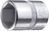 """Gedore dop zeskant 1/4"""" - 9 mm"""