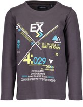 Blue Seven Jongens T-shirt - Bruin - Maat 122