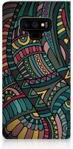 Samsung Galaxy Note 9 Standcase Hoesje Design Aztec