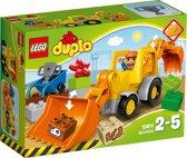 Lego Duplo set Graaflaadmachine 10811