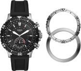 Fossil Garrett Hybrid Smartwatch FTW1190SET - Zwart