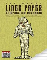 The Mummy - Lined Paper Composition Notebook