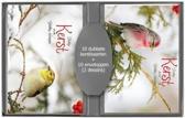 50 stuks Kerstkaarten - Nieuwjaarskaarten - Natuur afbeeldingen - met envelop | 5 pakjes | serie 15 - 8