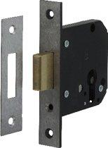 Nemef Veiligheidsbijzetslot - Rechthoekig - ZB4228-17-60 mm