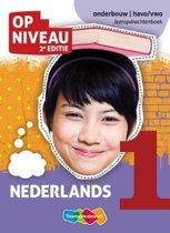 Op niveau - Nederlands 1 onderbouw; havo/vwo - Leeropdrachtenboek