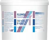 FLUWOL VV MUURVERFPASTA VEEGVAST WIT 4 KG