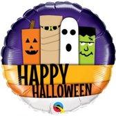 Folie Happy Halloween Pompoen