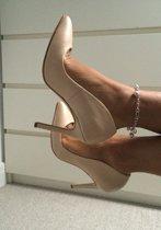 damesschoen sexy pump nude - high heels huidskleur- killer heels