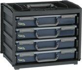 Raaco Handybox - Met 4 Assortimentsdozen - Incl. inzetbakjes - 136242