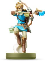 Nintendo amiibo Legend of Zelda Collection Link Breath of The Wild Figuur - 3DS + Wii U + Switch