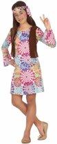 Hippie verkleedjurkje voor meisjes 128 (7-9 jaar)