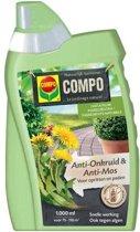 Anti-Onkruid & Anti-Mos Opritten & Paden Concentraat 1 liter