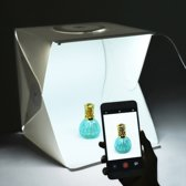 B.K Label - Mini Fotostudio - Ingebouwde Led Licht - 20 cm