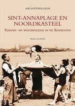 Sint-annaplage en noordkasteel - archiefbeelden