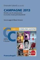 Campagne 2013. Diciotto casi di comunicazione in un anno vissuto pericolosamente