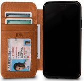 Sena Wallet Hoesje Apple iPhone X Bruin