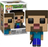 Pop Minecraft Steve Vinyl Figure