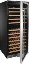 Polar - Wijnkoelkast - staal/RVS - 92 flessen