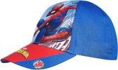 Spider-Man-Honkbal-pet-blauw-maat-52