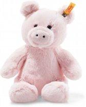 Steiff Soft Cuddly Friends - Oggie pig, pink - 18cm