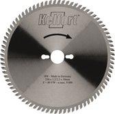 Kelford zaagblad HM 160x20 42-tands - voor aluminium en plaatmateriaal geschikt voor Trespa