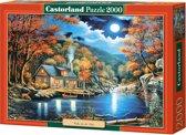 Cabin by the Lake puzzel 2000 stukjes