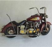 Blikken - rode - motor - Indian - style