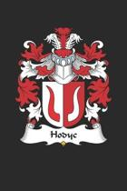 Hodyc: Hodyc Coat of Arms and Family Crest Notebook Journal (6 x 9 - 100 pages)
