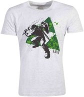 Zelda - Splatter Triforce Men s T-shirt - 2XL