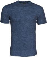 Projob 8001 Vlamvertragende T-shirt Blauw Mêlée maat XL