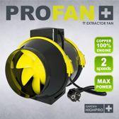 GardenHighPro Profan TT Extractor Fan 100mm 2 speed