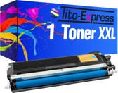 PlatinumSerie® 1 x XL toner cartridge cyaan alternatief voor Brother TN-230
