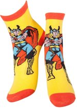 Marvel - Thor, Yellow & Red Socks - 43/46