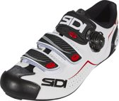 Sidi Alba Schoenen Heren, white/black/red Schoenmaat EU 38