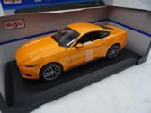 Maisto - Ford Mustang GT 2015 - Oranje Schaal 1:18