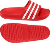 adidas Adilette Aqua Slippers Volwassenen - Active Red / Ftwr White / Active Red - Maat 42