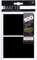 100 Standard Pro-Matte Deck Protector Sleeves (Zwart)