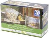 CJ Wildlife Kreta Raamvoederhuisje - Transparant - 24 x 9 x 15 cm