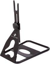 M-wave Verstelbare Displaystandaard Chop Staal Zwart Per Stuk