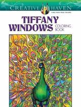 Creative Haven Tiffany Windows Coloring Book
