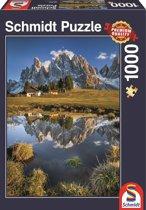 Geisleralm, Alpen, 1000 stukjes Puzzel