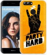 Huawei Nova 2 Hoesje Party Hard 2.0