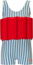 Beverly Kids UV drijfpakje Kinderen Funny Dancer - Blauw - Maat 104