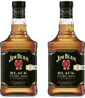 Jim Beam Black - 70 cl- 2-pack