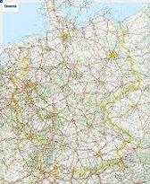 Michelin Deutschland 1 : 750 000. Poster-Karte