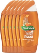 Badedas Feel Revived Douchegel - 6 x 250  ml - Voordeelverpakking